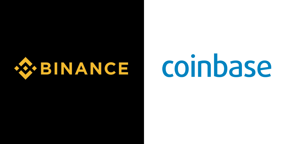 Coinbase or Binance are the two leading cryptocurrency exchanges